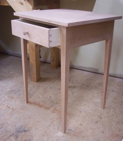 One-Drawer Shaker Table-0805 009