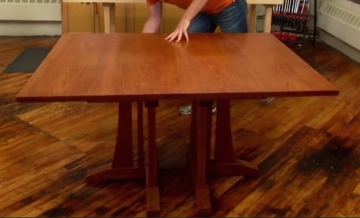 As Seen Under Construction On The PBS TV Show. Rough Cut Woodworking With  Tommy Mac